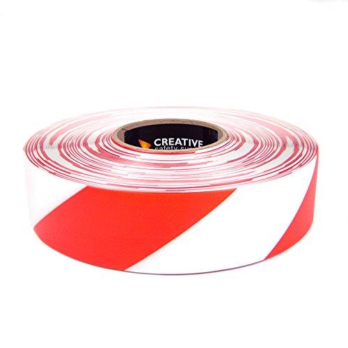 SafetyTac STH271 Hazard 2x100 Industrial Floor Marking Tape RedWhite