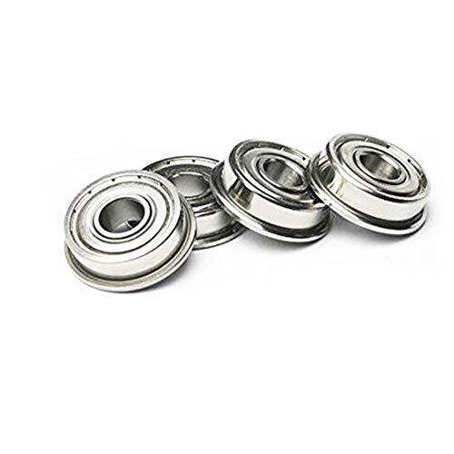 10pcs Flange Ball Bearing F608ZZ 8x22x7 mm Metric flanged Bearing