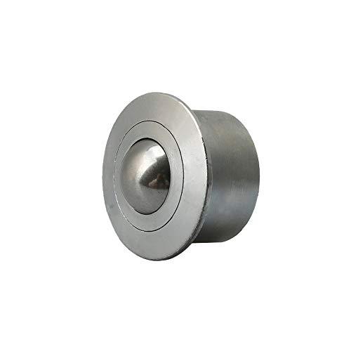Carbon Steel Heavy Duty Transfer Bearing Ball Dia 22mm Ball Transfer Unit