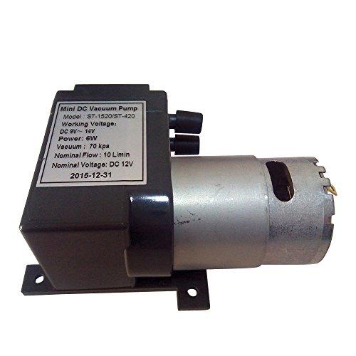 12 Volt Mini DC Vacuum Pump For Vacuum Heating Press Heat Transfer Machine Freesub ST-1520 Standard Accessories Parts