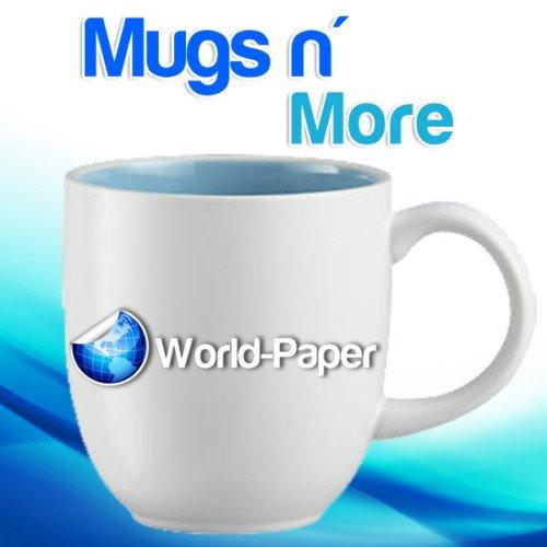 Mugs n More Heat Transfer Paper for Hard Surfaces mug press machine 85x1150 sheets