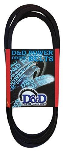 D&D PowerDrive 74500 V Belt A4L Belt Cross Section  50 Length Rubber