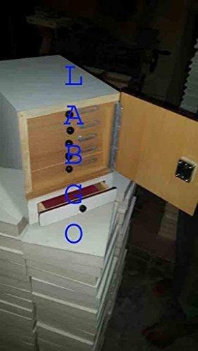 MG Scientific Slide Box Cabinet 500 Slide 0 A 17