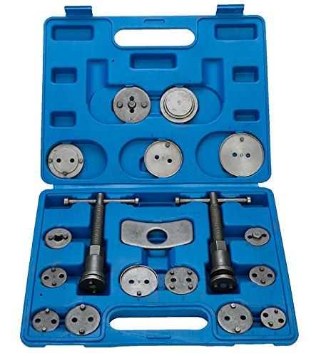 8milelake 18pcs Professional Disc Brake Caliper Wind Back Tool Set Brake Rewind Tool 18pc