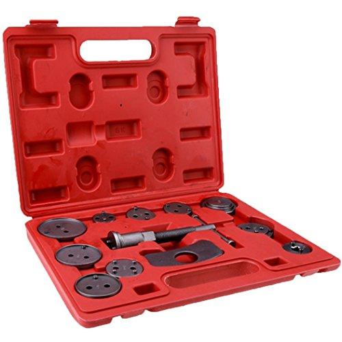 Fashine Universal Brake Caliper Kit 12pc Disc Brake Piston Pad Caliper Auto Wind Back Tools Kit For TrucksCarsUS STOCK