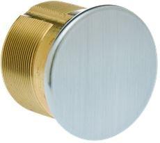 KABA ILCO 7160DC-26D 1 inch Dummy Mortise Cylinder Satin Chrome - 116451