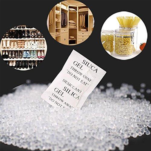 Bazaar 150pcs Silica Gel Desiccant Absorb Moisture Multipurpose Drying Agent Bags