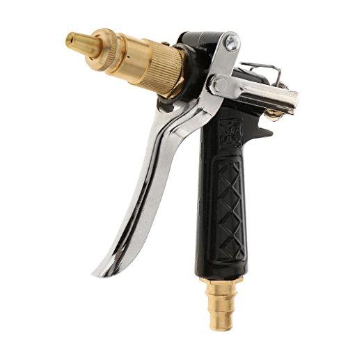 MagiDeal High Pressure Brass Metal Hose Nozzle Water Sprayer Sprinkler Garden Car Wash Plants Watering