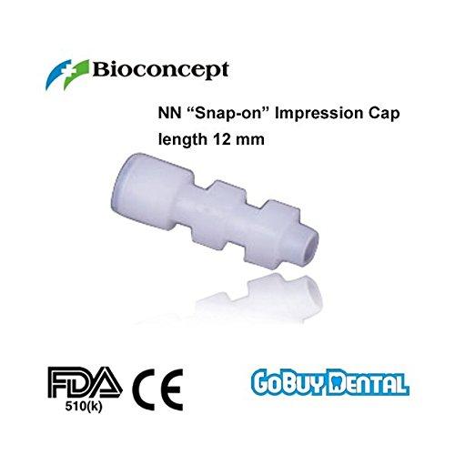"Bioconcept Straumann Compatible Dental Implants Instruments Nn ""Snap-on"" Impression Cap Length 120mm"