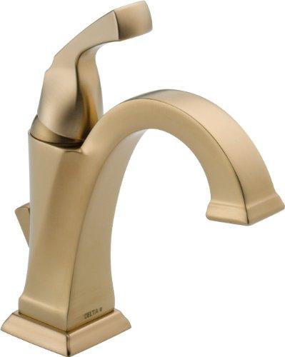Delta Faucet 551-CZ-DST Dryden Single Handle Centerset Bathroom Faucet Champagne Bronze