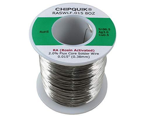 LF Solder Wire 965305 TinSilverCopper Rosin Activated 015 12lb