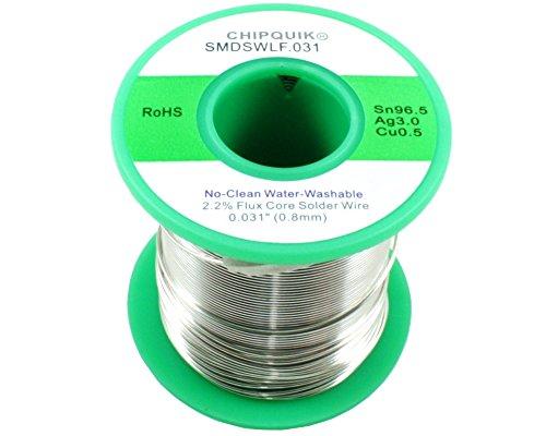 LF Solder Wire 965305 TinSilverCopper no-clean 031 12lb