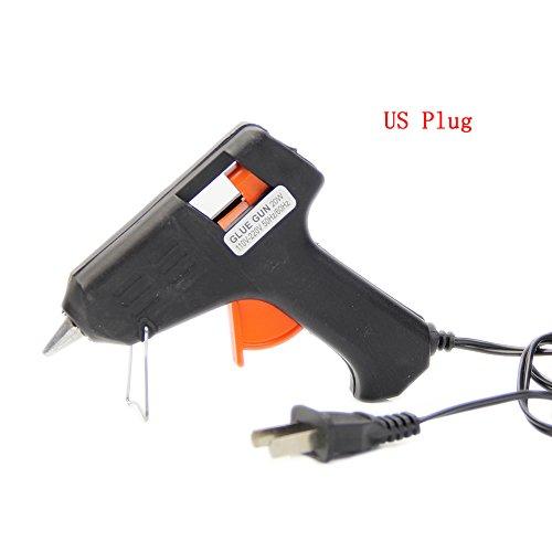 MEXUD-USEU Plug 20W Electric Heating Hot Melt Glue Gun Sticks Trigger Art Repair Tool US Plug