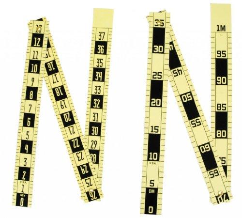Tri-fold scaleruler - inches 15 Wide