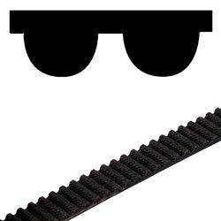 Neoprene timing belt HTD 8M width 50mm 8M-50 open length