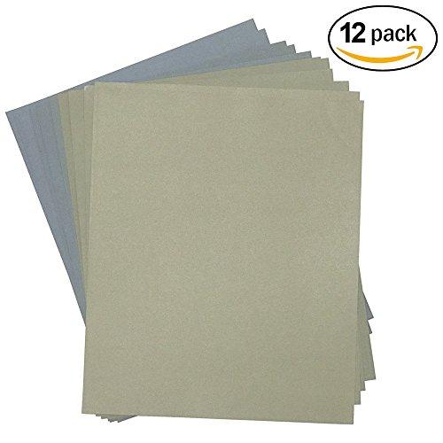 Grit 1500 to 7000 Wetdry Sandpaper Sheets Precision Polishing Sanding -2pcs of each 1500 2000 2500 3000 5000 7000 Grit wet dry sandpaper