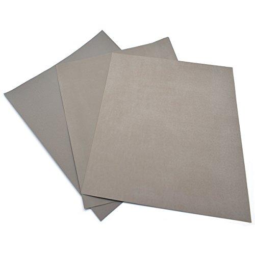 Pack of 3 High Precision Polishing Sanding Wetdry Abrasive Sandpaper Sheets -Grit 3000 5000 7000 Germany