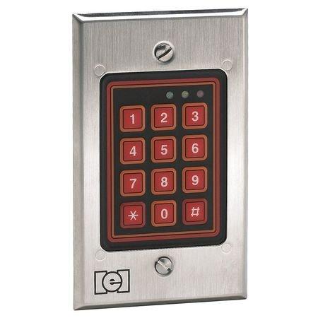 Access Keypad Weatherized 2-34inW White