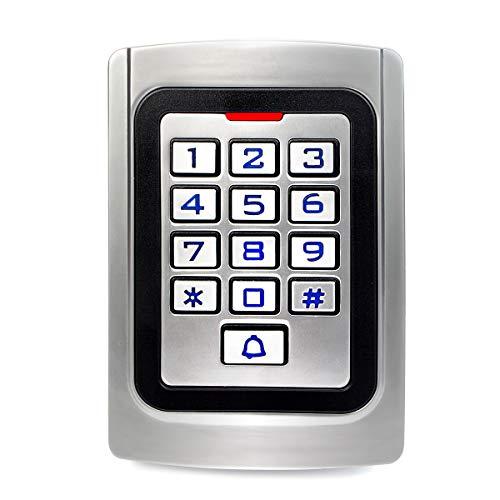 Retekess K10EM-W Access Control Keypad Waterproof Wiegand 26 PIN Code RFID Keypad IP68 Waterpfoof Access Control 2000 Users keypad Garage Door Keypad