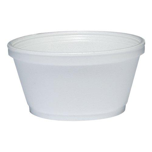 Dart Foam Container 8oz White 1000Carton