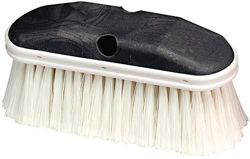 Carlisle 36120902 Vehicle Wash Brush Plastic Block 2-34-Long White Polystyrene Bristles 9 L x 3 W Case of 12