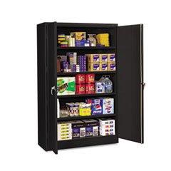 5COU Assembled Jumbo Steel Storage Cabinet 48w x 18d x 78h Black