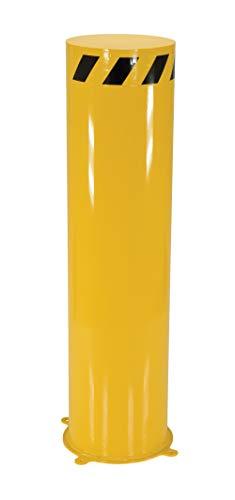 Vestil JBOL-48-12 Jumbo Steel Bollard 1691 x 1691 x 4819 Yellow