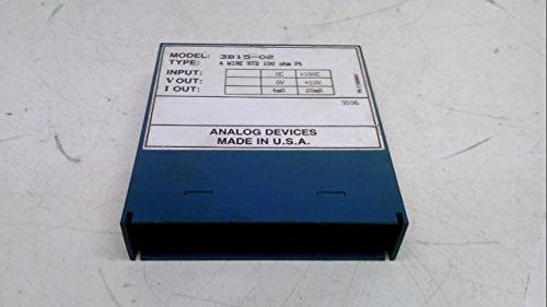 Analog Devices 3B15-02 4 Wire Rtd 100 Ohm Pt Input 0C-100C 3B15-02