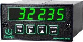 Laurel Electronics L10202C427C RTD Temperature Meter Cu10 10 Ohm Copper RTD -100 to 260°C Green LED Digits 85-264 Vac Power RS485 Data IO