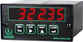Laurel Electronics L20101C427C RTD Temperature Meter Cu10 10 Ohm Copper RTD -100 to 260°C Red LED Digits 85-264 Vac Power RS232 Data IO