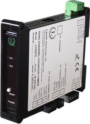 Laurel Electronics LTE22C427F RTD Temperature Ethernet Transmitter Cu10 10 Ohm Copper RTD -148 to 500°F 4-20 mA Analog and Ethernet Outputs Dual 120 mA Relays Power over Ethernet PoE