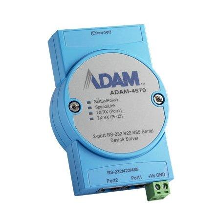 Advantech ADAM-4570-CE 2-port RS-232422485 Serial Device Server