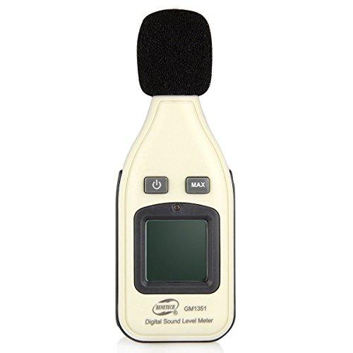 Mondpalast Digital LCD Sound Noise Level Meter Measuring 30~130dBA Decibel Pressure