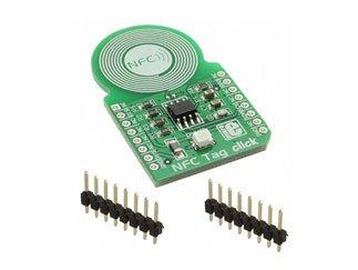 MIKRO ELEKTRONIKA MIKROE-1726 NFC Tag Click Board w M24SR64 NFCRFID Tag IC - 1 items