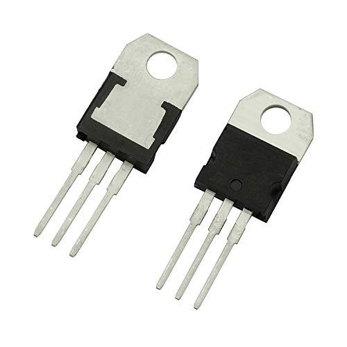 Tegg 15PCS LM317T LM317 3-Terminal 15A Positive Adjustable Voltage Regulator