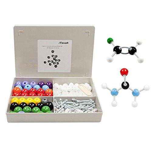 Organic Chemistry Biology Molecular Model Kit Toys iTavah Inorganic Biology Molecular Atoms Model Set for Student Teacher College School Lab 86 Atoms 153 Bonds 239 Pieces