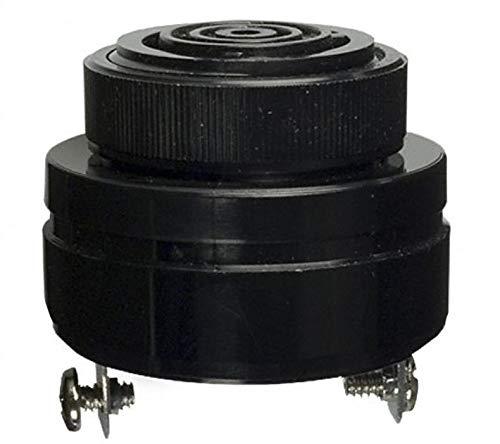 Mallory Sonalert SC628P Buzzers Indicator Internally Driven Piezo 6~26mA 29kHz 68dB  6V 61cm Panel Mount Screw Terminal Quick Connect Tab - 0250 635mm