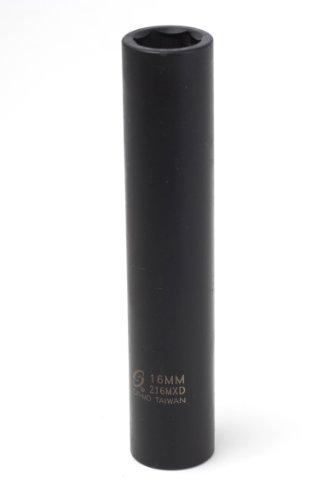 Sunex 216mxd 12-Inch Drive 16-mm Extra Deep Impact Socket