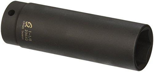 Sunex 236xd 12-Inch Drive 1-18-Inch Extra Deep Impact Socket
