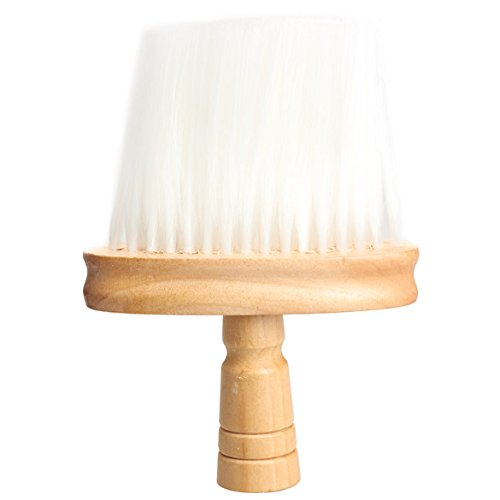 Chinatera Professional Barber Duster Neck Clean Brush Wood Handle Hairdressing Tool