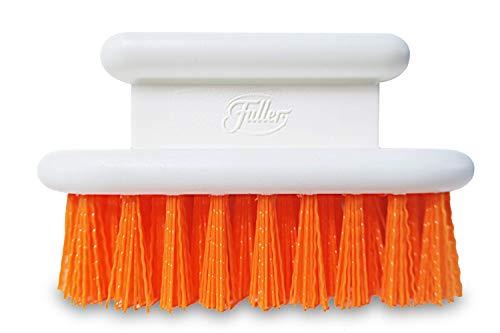 Fuller Brush Orange Scrub Brush - All Purpose Block Scrubber For Cleaning Tough Stain Removal - Multi Surface Cleaner For Garments Concrete Carpet Kitchen Bathroom