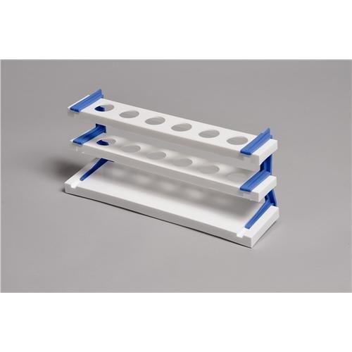 United Scientific Supplies 76102 Nessler Cylinder Rack for 100 mL cylinders 6-tube Polypropylene