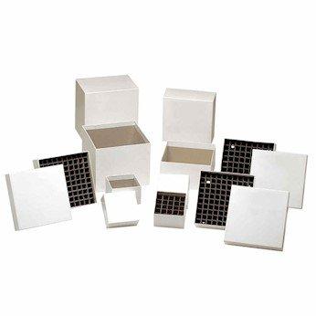 Argos Technologies R3016 Cardboard Cryobox white 5-14L X 5-14W X 3H