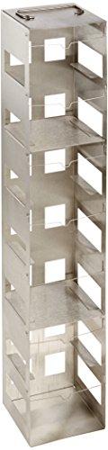 Nalgene Stainless steel Cryobox Rack 7 Shelves 590cm Length x 225cm Width x 143cm Height Case of 2