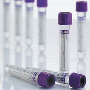 GREINER BIO-ONE 454209-1200 Hematology K2 EDTA Evacuated Tubes 13 mm Height 13 mm Wide 75 mm Length 4 mL Pack of 1200