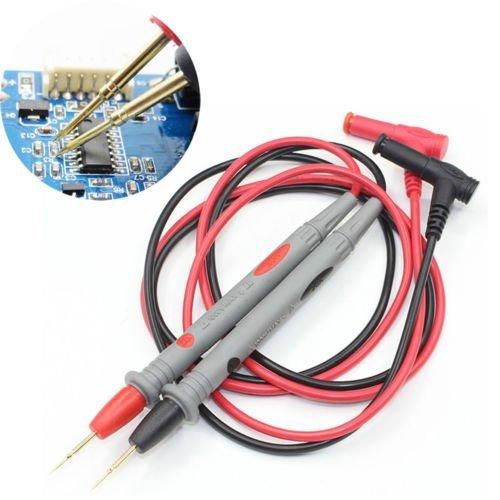 1000V 20A Needle Point Multi Meter Test ProbeLead For Digital Multimeter Fluke