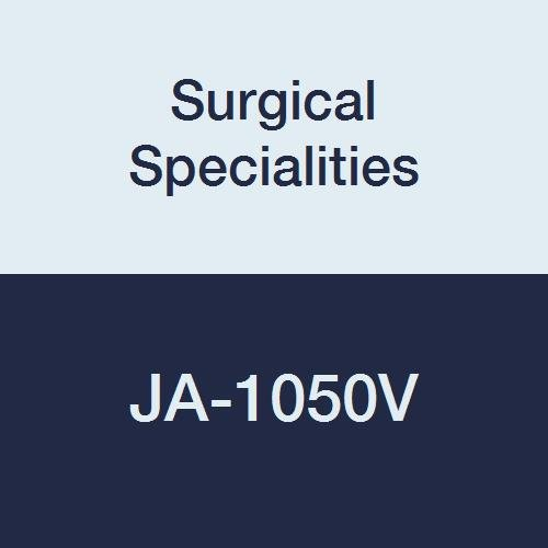 Surgical Specialities JA-1050V Quill Polypropylene Animal Health Suture Bidirectional Taper Point Cutting 1 Size 14 cm x 14 cm Bard 22 mm Needle 12 Circle Clear Pack of 12