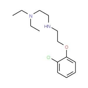 N1-2-2-chlorophenoxyethyl-N2N2-diethyl-12-ethanediamine