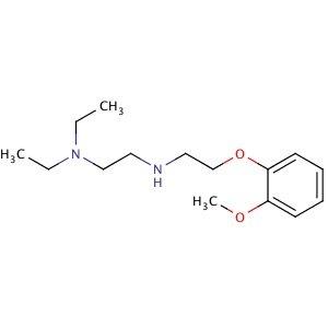 N1N1-diethyl-N2-2-2-methoxyphenoxyethyl-12-ethanediamine
