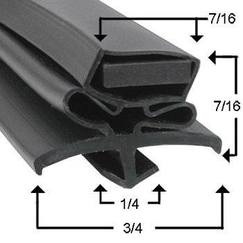 True Manufacturing 810810 Magnetic Door Gasket For TSSU  TUC-27  TWT-27